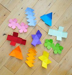 Algumas ideias de decoração com papeis