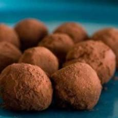 Goat Cheese Chocolate Truffles...mmmm!