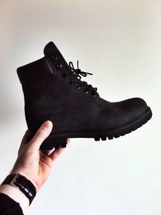 black timberlands - something that's actually in my closet lol