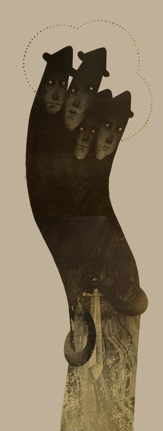https://www.behance.net/gallery/17764625/Slavic-Gods-Demons-Lithography