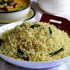 My favorite way of making dhaba style Zeera rice. It's easy, simple, spicy and delicious! Goes well with many dhaba style non-veg curries and dal fry. Lunch Box Recipes, Rice Recipes, Indian Food Recipes, Ethnic Recipes, Recipies, Vegetarian Curry, Vegetarian Recipes, Food Counter, Rezepte