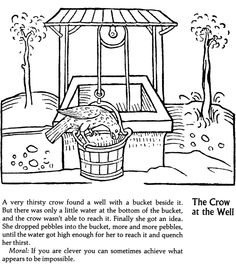 aesops fables and coloring pages - photo#31