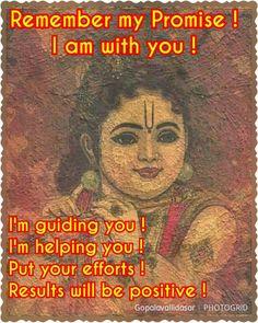 Remember his promise. Radha Krishna Love Quotes, Lord Krishna Images, Radha Krishna Images, Krishna Pictures, Krishna Photos, Radha Krishna Wallpaper, Krishna Statue, Krishna Leela, Cute Krishna