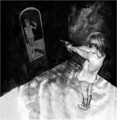 minha realidade oculta por trás do espelho