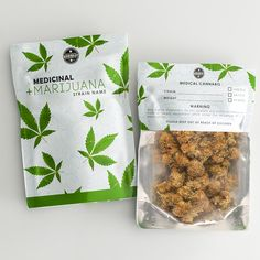 Package design done For medical cannabis packaging