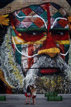 El enorme mural de los Juegos Olímpicos con el que vas a alucinar