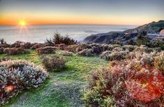 Mendocino Headlands Sunset from Ford House