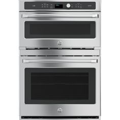 GE Cafe Series Advantium Convection Double Electric Wall Oven (Stainless Steel) (Common: 30-in; Actual: 29.75-in)