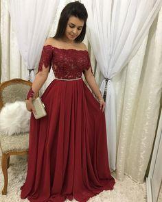 A-Line Strapless Slit Long Prom Dresses with Pockets, Simple Formal Party Dresses Best Prom Dresses, Red Wedding Dresses, Cute Dresses, Bridesmaid Dresses, Formal Dresses, Party Dresses, Beaded Prom Dress, Lace Dress, Vestidos Color Vino