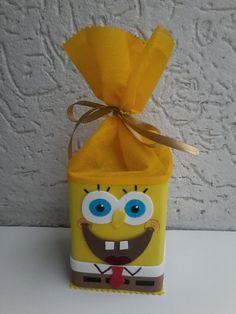 Caixinha de doce do Bob Esponja