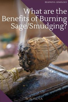 Does burning sage help drive away spirits and evil? What does smudging mean? Find out the truth about ceremonial sage in today's blog. Benefits Of Burning Sage, Sage Benefits, Herbal Remedies, Health Remedies, Diy Cleaning Products, Cleaning Hacks, Sage Help, Pendulum Board, Energy Cleansing