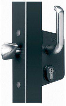 Sliding Gate Lock For 1 1 2 4 Gate Frames Black Gate Locks