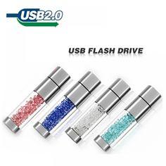 Lipstick usb flash drive 4GB 8GB 16GB 32GB crystal Jewelry creative u disk pen drive pendrive memory card disk  Price: 9.00 & FREE Shipping  #tech #electronics #home #gadgets
