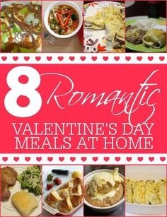 Valentineu0027s Day Date Idea: 8 Romantic Valentineu0027s Meals ...