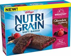 Any One Kellogg's Nutri-Grain Chocolate Raspberry Bars $0.75 Off!