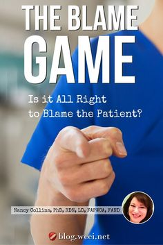 The Blame Game: Is It All Right to Blame the Patient?  Clearly it is a legal liability when health care professionals (HCPs) do not follow doctor's orders. But when the patient chooses not to follow doctor's orders, things are not so clear.  via @woundcareeducat Pressure Ulcer, Wound Care, First Names, Understanding Yourself, Peace Of Mind, Blame, First Love, Health Care, Finance