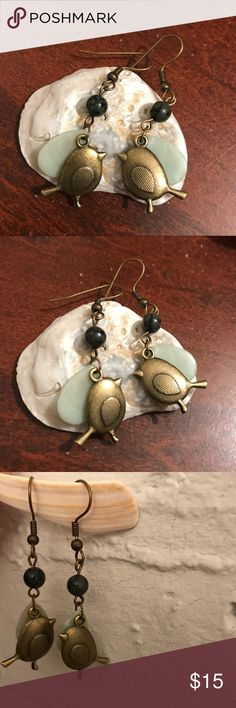 LAST1✨Handmade Easter Put a Bird on It Earrings They are cute!!! I've SOLD OUT 2 pairs of crane earrings, and only have these birdie earrings left! Snatch it quick!! Each pair is a different design, no duplicates!  ♥ 100% Handmade  Each pair of my earrings is uniquely handmade by me :) They are for those who: + appreciate handmade jewelry + want to give your loved ones something special and different  \(^▽^*) One more thing: they are UNIQUE because they are the ONLY one~* Support (very)…