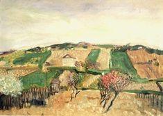 'Grinzing', 1906 von Richard Gerstl (1883-1908, Austria)