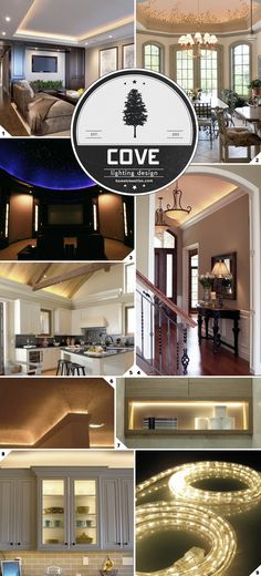 The Beauty of Using Cove Lighting: Design and Ideas