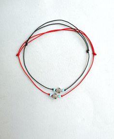 Gold cowrie bracelet Cotton perle Friendship bracelet Cowrie sea shell Womans gift Ombre color DMC embroidery floss Salmon pink Orange