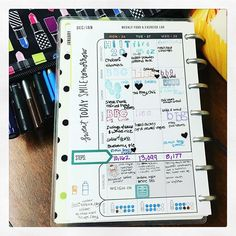 First half of the week in my @the_happy_planner #minifitnessplanner by @meandmybigideas  I've been sick  so I didn't #mealprep for the week. I've been eating here and there...mostly there (at my moms ). I've been using the # #stickers to indicate if I actually did the #planned #workout Also I think I'm falling in #love with the #lettering of the #stamps from #studiol2e to #plan my #workouts  .... #TiuTeam #accountability #minihappyplanner #beachbody #fitness #health #hooper