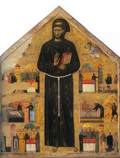 Dossale di San Francesco. 1255. Dalla chiesa di San Francesco a Pisa. Museo Nazionale di San Matteo a Pisa.
