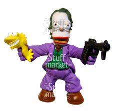 The Joker Simpsonized - Parody Figure