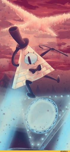 Bill Cipher,GF Персонажи,Gravity Falls,фэндомы,GF art