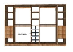 do you think we're clever enough to build our own wardrobe system?
