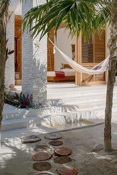 Beach path to Mayan hammock | Casa Xixim at Soliman Bay in Tulum, Mexico