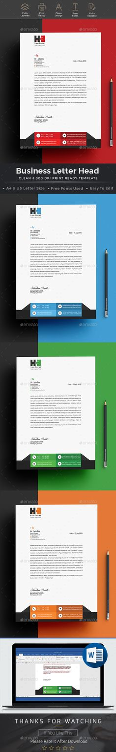 Web Design Agency Ms Word Letterhead Letterhead Pinterest - free word letterhead template