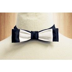 Black & White Batwing Bow - http://www.brownbows.com/accessories/bows.html?p=2