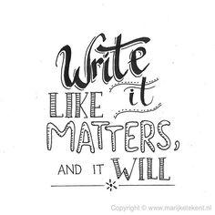 Dag 8 van de #dutchlettering challenge van juni 2017. . . . . . . #typography #calligraphy #brushcalligraphy #brushlettering #quote #lettering #letterart #handdrawn #handwritten #handmadefont #handletteren #handlettering #dutchletteringchallenge #draw #drawing #tekenen #tekening #sketch #doodle #typspire #typedaily