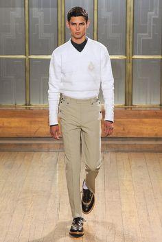 Nicole Farhi Spring 2013 Menswear Fashion Show