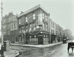 Saint Matthew's Row, Bethnal Green, corner of Cheshire Street and Saint Matthew's Row, 1938