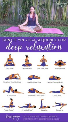 Sanftes Yoga, Sleep Yoga, Bedtime Yoga, Yoga Meditation, Vinyasa Yoga, Relaxing Yoga, Deep Relaxation, Yoga Relaxation Poses, Relaxation Video