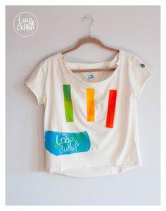 Tshirt - loop&button