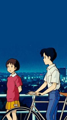'Whisper of the Heart' -Studio Ghibli Hayao Miyazaki, Totoro, Studio Ghibli Art, Studio Ghibli Movies, Animes Wallpapers, Cute Wallpapers, Personajes Studio Ghibli, Studio Ghibli Background, Film Manga