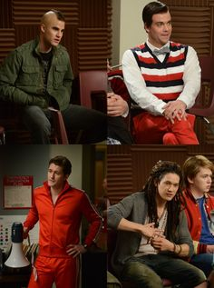 the great glee swap. <3<3<3 this episode!