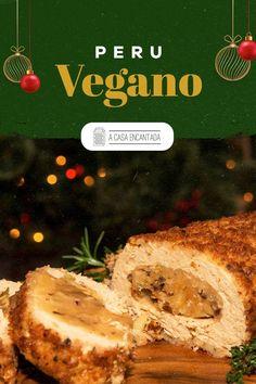O Natal é uma festa de alegria e união, da qual não devemos deixar ninguém de fora. Por isso, a receita de hoje é especial para você ou para o seu convidado que não come carne: o peru de Natal vegano. Incrivelmente saboroso, esse prato vai encantar e fazer o maior sucesso na sua ceia. Acesse e confira o passo a passo completo!   #receitadenatal #receitasnatalinas #vegano #vegetariano #peruvegano #comidacaseira #ceiavegana #ceiavegetariana #façavocemesmo #acasaencantada Creme, Steak, Cooking, Fit, Blog, Cheer Party, Light Appetizers, Family Recipes, Vegan Food