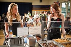 Marianne Bryant (Amanda Bynes), Olive Penderghast (Emma Stone) ~ Easy A (2010) ~ Movie Stills