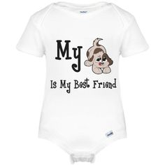Dog Best Friend Infant Gerber Onesies