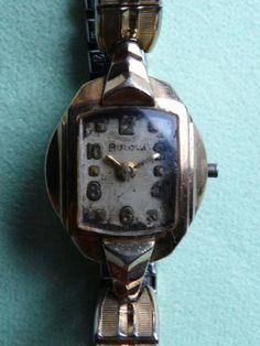 Blova 【BULOVAブローバ 17石 機械式 アンティーク腕時計 手巻き】 Watch Antique ¥1990yen 〆05月24日