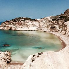 Moon Beach…Milos, Greece, Cyclades ★
