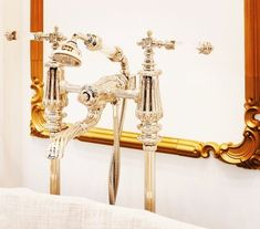 Foam & Bubbles recently met up with the opulent bathroom brand Volevatch who stole the show in terms of the luxury stakes at London's Decorex interiors show Rococo, Baroque, Wall Lights, Ceiling Lights, Shower Faucet, Single Piece, Modern Bathroom, Bubbles, Art Deco