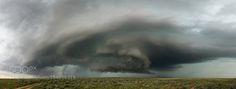 Tornado Under Supercell - Boise City OK by kellydelay...