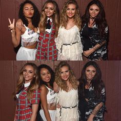 Little Mix backstage at @997NOW yesterday