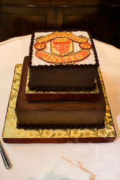 Manchester United Grooms Cake By Clic Cheesecakes And Cakes In Atlanta