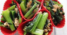 お弁当レシピ本に掲載☆感謝☆簡単で彩りのよい冷凍OKな弁当おかずです。鉄分たっぷりの小松菜で妊婦さんにもおすすめ!