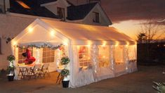 Is it a carport or an amazing party venue? Party Tents For Sale, Tent Sale, Tent Wedding, Party Wedding, Portable Carport, Creative Party Ideas, Gazebo Canopy, All White Party, Couple Shower